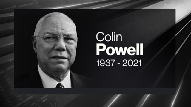 Colin Powell, U.S. Army General, Secretary of State, Dies at 84